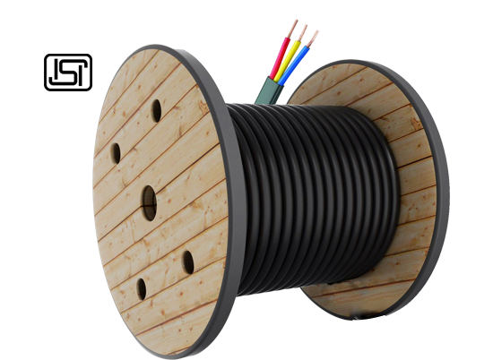 Submersible Flat Cables (Three Core)