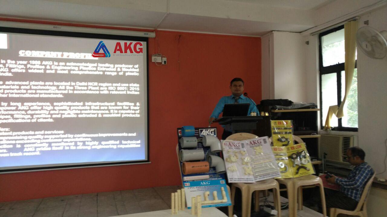 Presentation at CPWD Kolkata