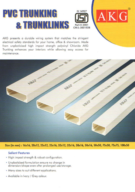 PVC Trunking & Trunklinks